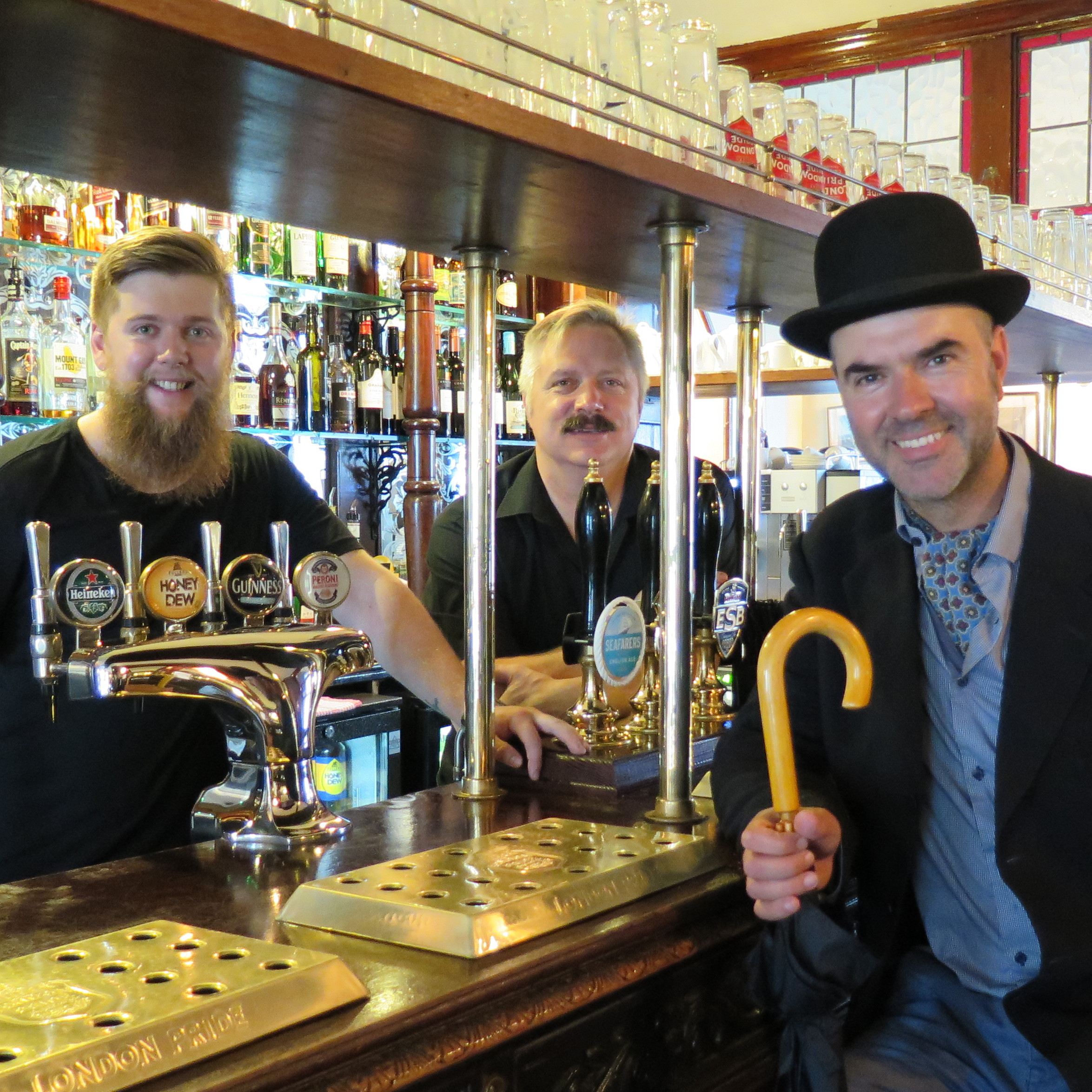 Chris Buckley and Daryl Lee -Managers at Fullers Lamb and Flag