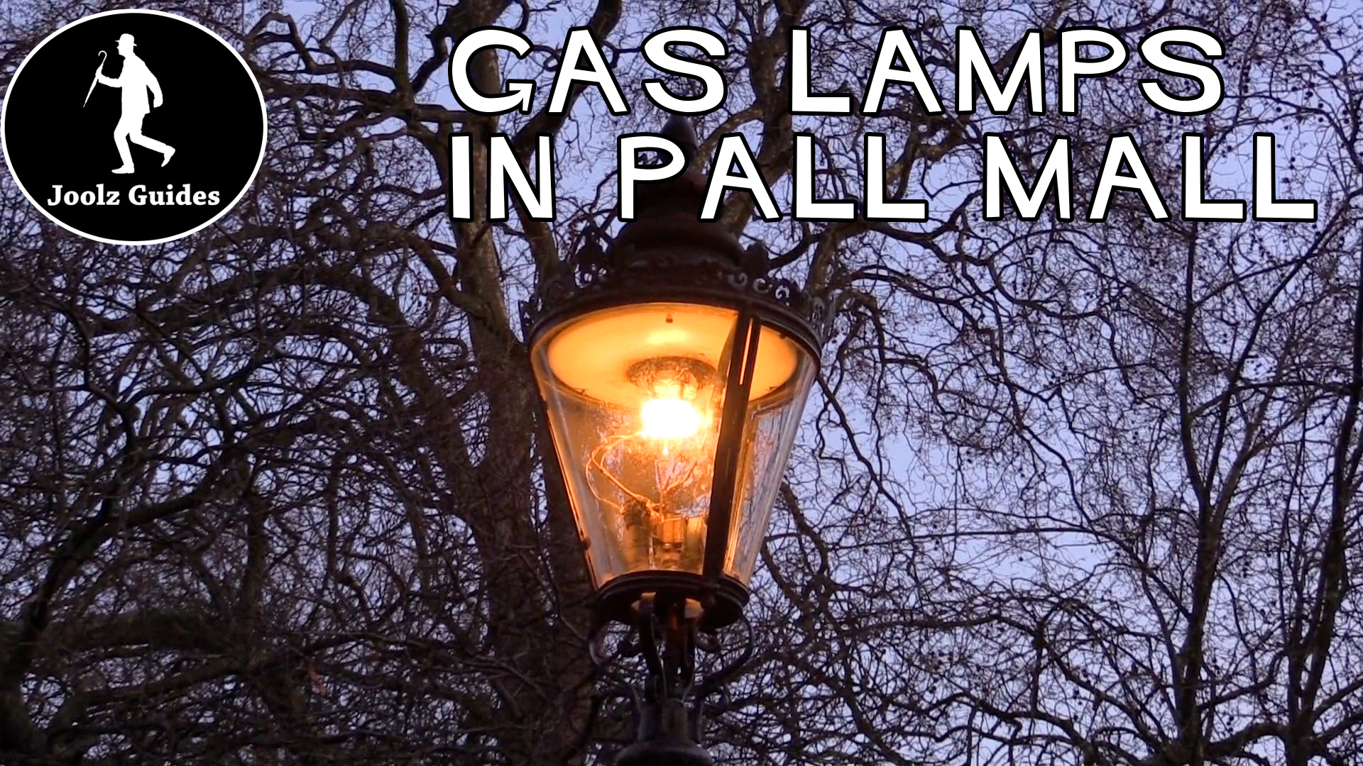 Gas Lamps in Pall Mall