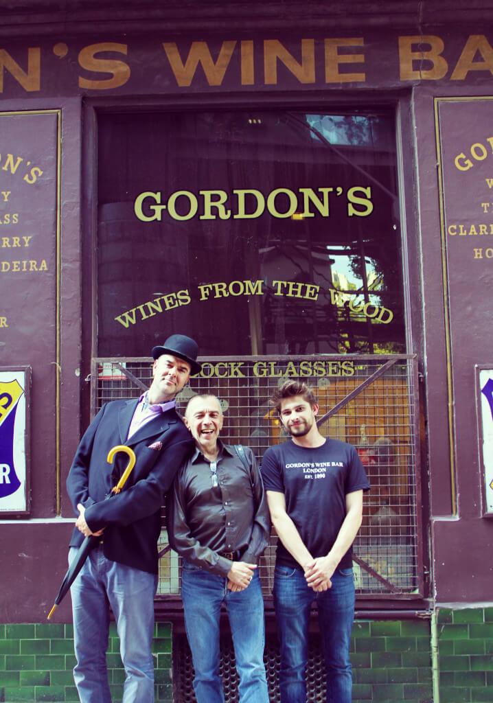Gerard-Manager at Gordon's Wine Bar
